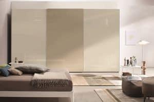 Lord, Kleiderschrank mit Schiebetüren, für moderne Schlafzimmer