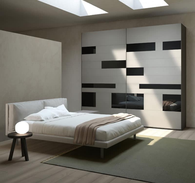 holzgeh use f r die schlafzimmer in verschiedenen farben. Black Bedroom Furniture Sets. Home Design Ideas