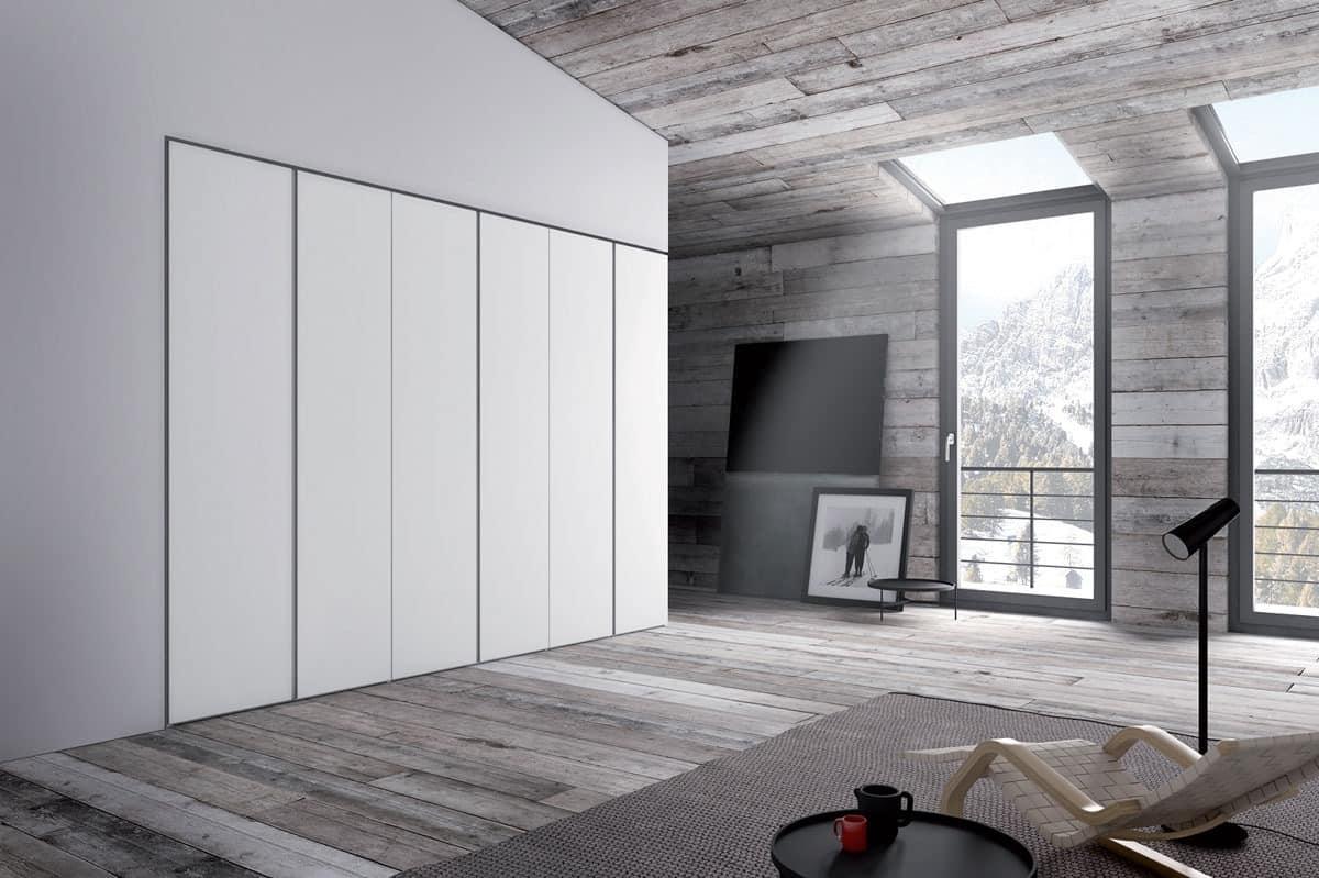 Kleiderschrank für Schlafzimmer, moderner Stil | IDFdesign
