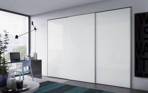 Nastro, Kleiderschrank für Schlafzimmer, moderner Stil