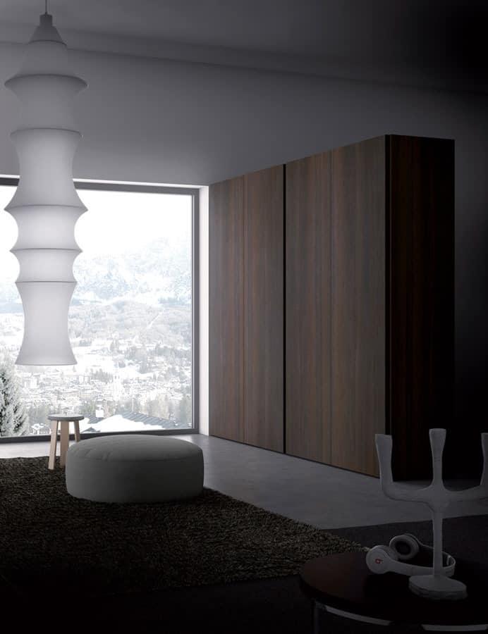 kleiderschrank f r schlafzimmer moderner stil idfdesign. Black Bedroom Furniture Sets. Home Design Ideas
