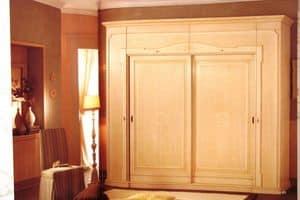 Nobile, Kleiderschrank mit 2 Schiebetüren für Luxus-Villen