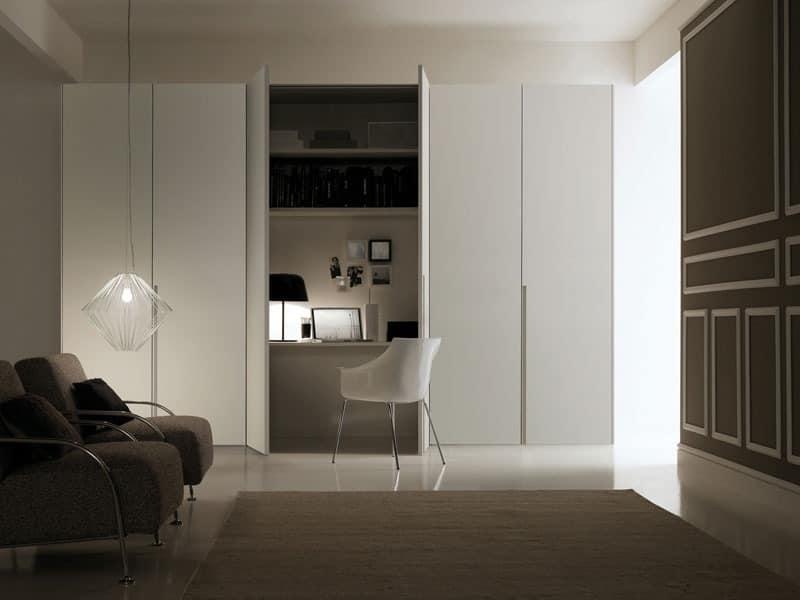 moderner kleiderschrank schiebet ren f r die schlafzimmer idfdesign. Black Bedroom Furniture Sets. Home Design Ideas