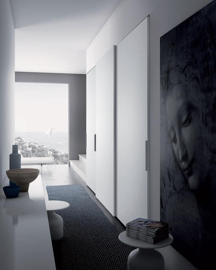 Plana, Einfache und vielseitige Garderobe, kundengerecht, Garderobenbereich