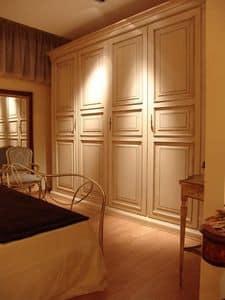 Priori, Kleiderschrank mit 4 Türen für Hotels und Villen
