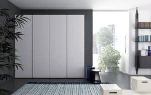 Raggio, Kleiderschrank mit Drehtüren für Ihr Zuhause
