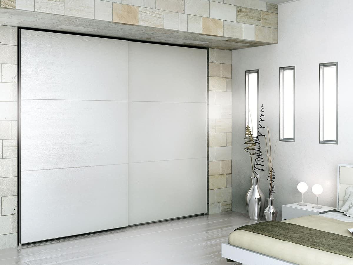 Moderner Kleiderschrank, langlebige Materialien, für Hotels | IDFdesign