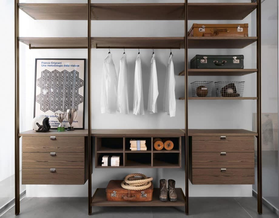solo decke design m bel f r begehbaren kleiderschrank holz und bronze eloxiert m bel f r. Black Bedroom Furniture Sets. Home Design Ideas