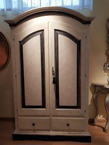 Art. 172, Zweitüriger Outlet-Kleiderschrank im provenzalischen Stil