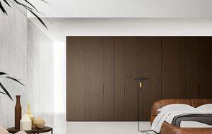 Center koplanare Türen, Kleiderschränke mit koplanaren Türen