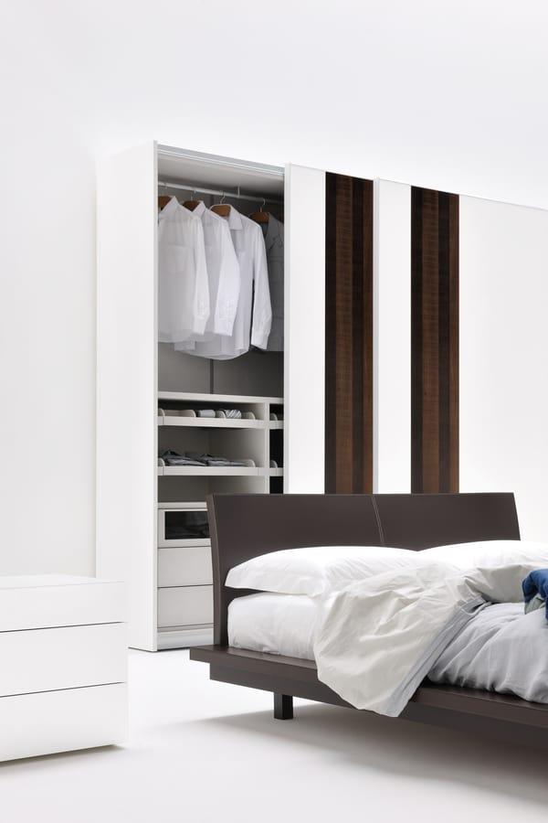 Kleiderschrank mit Schiebetüren für Schlafzimmer | IDFdesign
