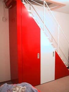 Sala Attilio, AS design Schränke
