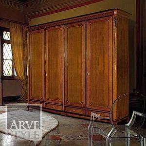 Villa Armoire, Kleiderschrank im klassischen Stil mit Schubladen