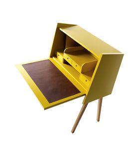730301 Hemingway, Schreibtisch mit Klappregal