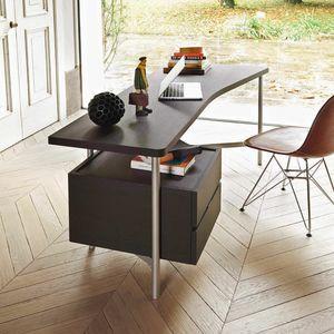 Desk, Schreibtisch mit Schubladen