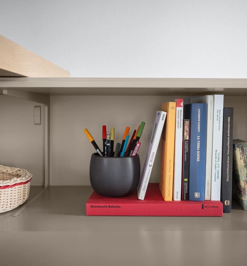Domino Schreibtisch, Eooden Schreibtisch, mit benutzerdefinierten Formaten Breite
