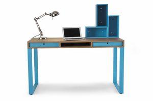 Easy desk 01, Schreibtisch mit Schubladen