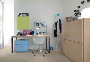 Linear desk 02, Schreibtisch mit minimalistischem Design