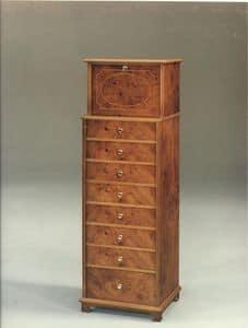 2350 SCHARNK, Holz Kommode für klassischen Stil Schlafzimmer