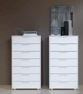 tallboy f r schlafzimmer ohne griffe idfdesign. Black Bedroom Furniture Sets. Home Design Ideas