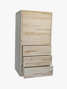 Settimino, Kommode aus Holz mit 7 Schubladen