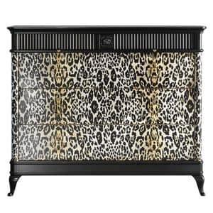 Art. CA777, Leopard Kommode, für Original-Häuser