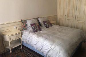 Bruna, Moderner barocker Nachttisch und Kommode