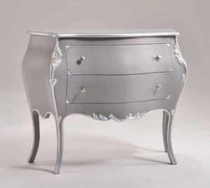 CHIC chest of drawers 8317, Kommode aus massivem Holz, klassischen Stil gemacht