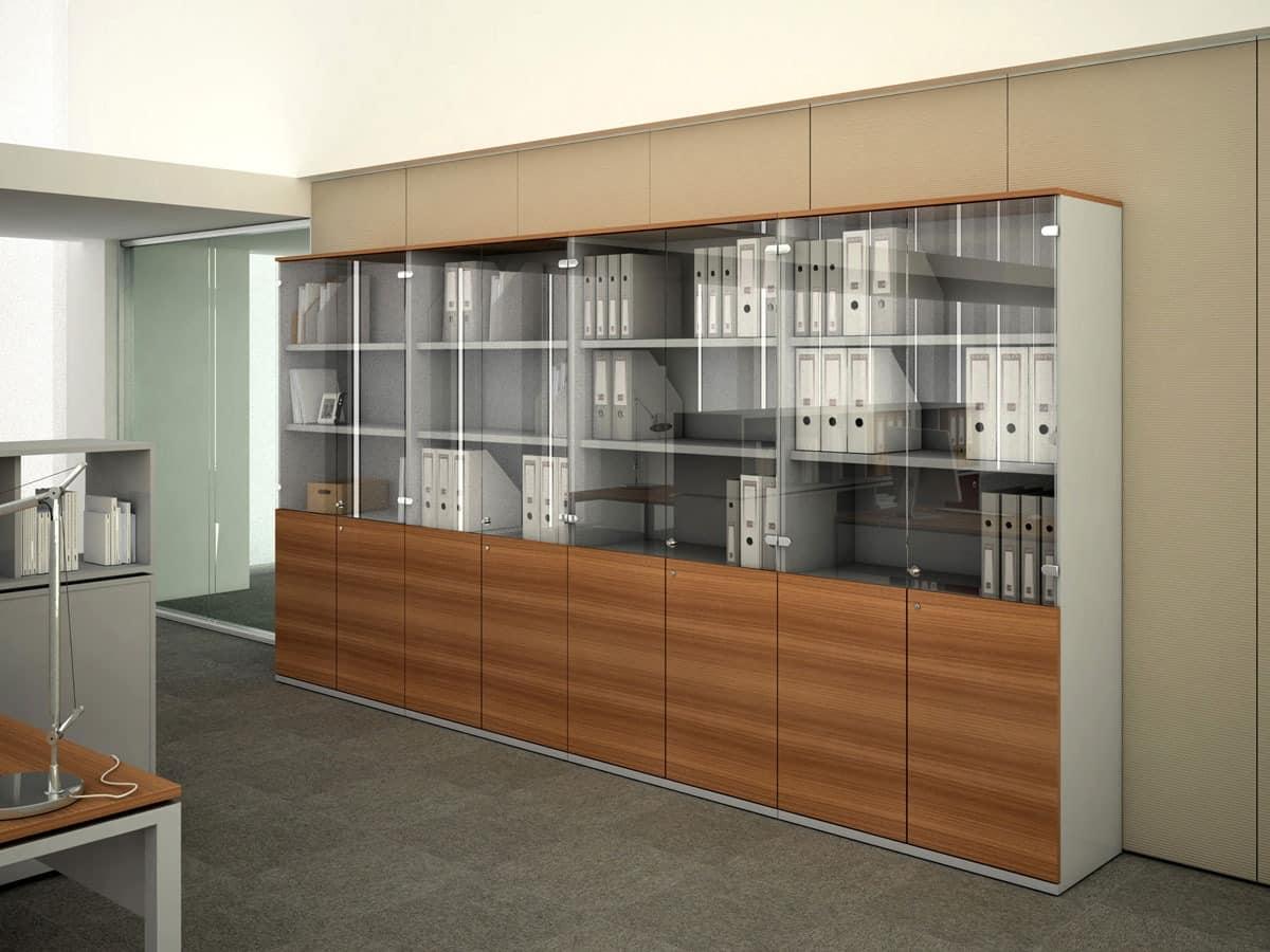 Holzschränke für Büro, Büro Speichereinheiten | IDFdesign