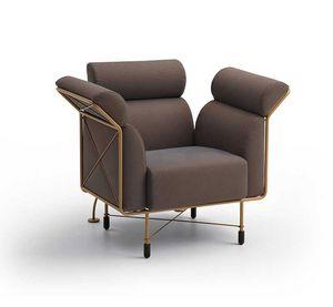 Agevole, Sessel mit vollständig abnehmbarer Polsterung