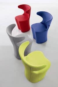 Desy 940 945, Sessel Design, in verschiedenen Farben und Stoffen, für Wohnzimmer