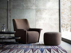 Dialogo, Moderne Sessel, in Leder oder Stoff