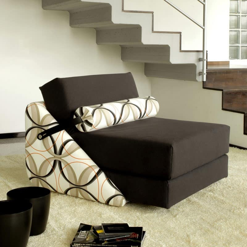 sessel in bett mit r dern abnehmbarem bezug idfdesign. Black Bedroom Furniture Sets. Home Design Ideas