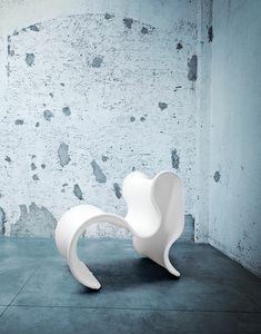 Fiocco, Design Sessel aus elastischem Stoff
