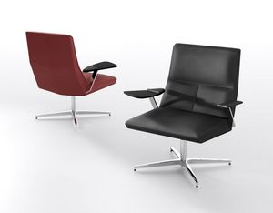 Impero L, Lounge Sessel mit Tablett