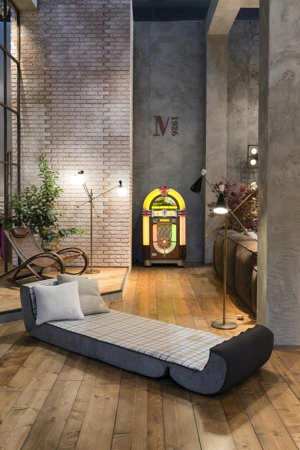 sessel als in ein bett verwandelt werden kann idfdesign. Black Bedroom Furniture Sets. Home Design Ideas