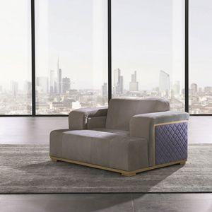 PO73 Cube, Sessel mit einem strengen Design