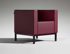 POLO 1, Sessel mit Polyurethanschaum gepolstert