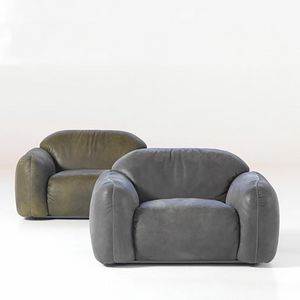Piumotto Sessel, Design Sessel mit abgerundeten Formen