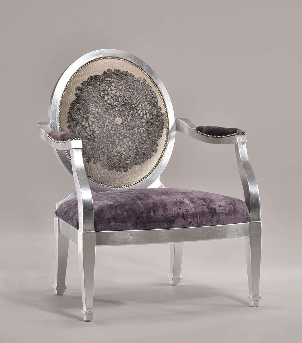 Bemerkenswert Sessel Mit Fußstütze Sammlung Von Luna Large Armchair 8239a, Gepolsterte Hocker Als