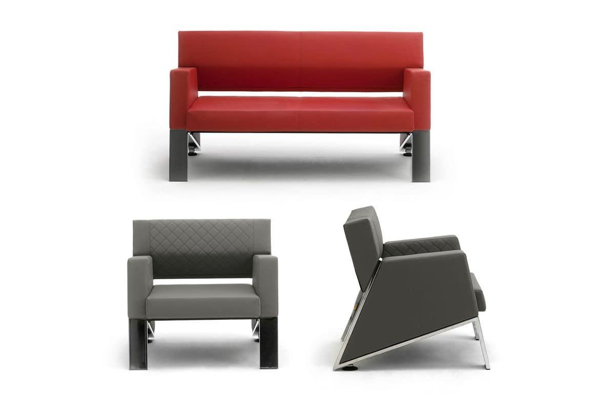 Auros 52005, Sofa für Büro und Warteräume