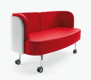 Blog, Sofa auf Rädern, für Büro und Warteraum