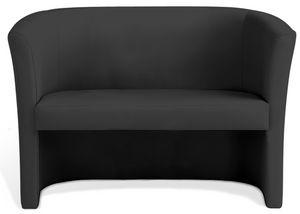 Duke 2P, Zweisitziges Sofa für Wartezimmer