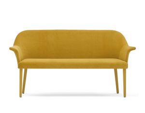Grace 03451 - 03452, Sofa in Schaum, Sitz mit Gürtel, mit Beinen