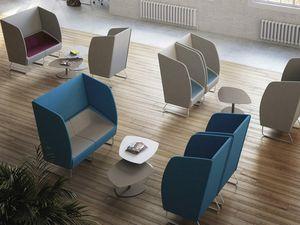 ITACA ACOUSTIC, Akustisches Sofa für Privatsphäre