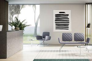 MONET, 2-Sitzer-Sofa für Warteräume