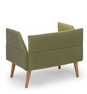 Oasis low, Kleines Sofa mit niedriger Rückenlehne