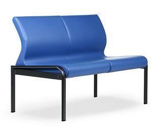SEDOFF ONE 402 S, Schlanke Sofa für Wartezonen und Büros