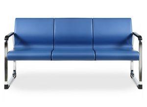 SEDOFF ONE 403 A, Sofa gepolstert mit feuerhemmenden Schaum, für Büros