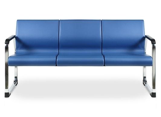 Sofa gepolstert mit feuerhemmenden Schaum für Büros
